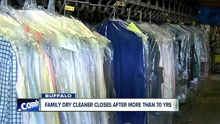 Rotundo's Dry Cleaning closes in Buffalo after more than 70 years of business