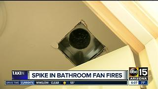 Bathroom vents: a hidden fire danger in your home - Video
