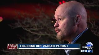 Part of I-25 to be closed Friday for funeral procession of Douglas County deputy Zackari Parrish