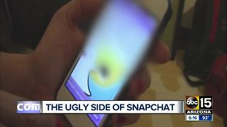 Warning from Valley mom about Snapchat and kids - Video