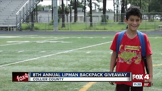 8th Annual Lipman Family Farm Backpack Giveaway