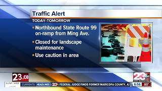 State Route 99 closure - Video