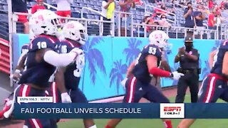 FAU football unveils schedule