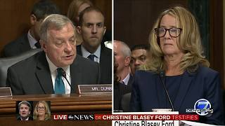 Dr. Ford says she is