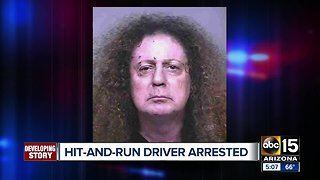 Man arrested for hitting family with his car