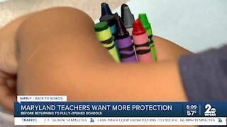 Maryland teachers want more protection