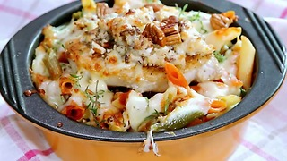 Pork and Pasta Bake - Video