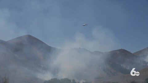 Phillips Fire forces evacuation at Soldier Mountain Resort