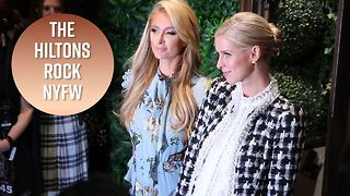 Famous families attend Alice + Olivia presentation - Video