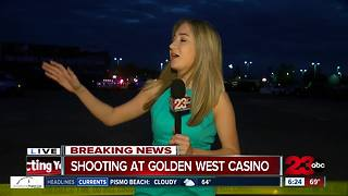 Shooting reported at Golden West Casino - Video