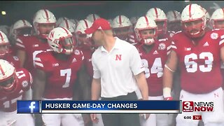 Husker Game-Day Changes