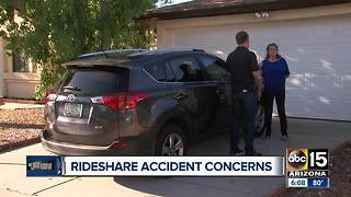 LJK: Woman gets hit by rideshare driver, claim denied - Video