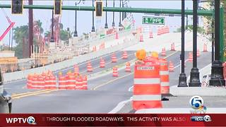 Lanes to be open on Flagler Bridge - Video