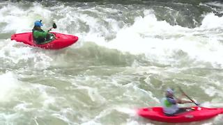 North Fork Championship goes on with high river flows and high adrenaline - Video