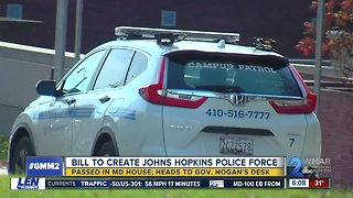 Final bill passed to allow John Hopkins University to have private police force