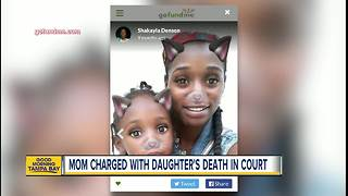 Mother charged with murder after allegedly drowning 4-year-old daughter in the Hillsborough River - Video