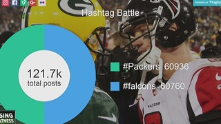 Packers Hashtag Battle