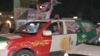 Crowds Celebrate in Erbil Ahead of Kurdish Independence Referendum - Video