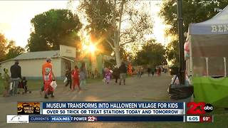 Museum offers safe alternative to trick-or-treating - Video