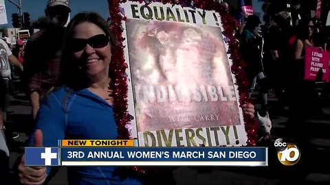 Women's March San Diego not just about women's issues