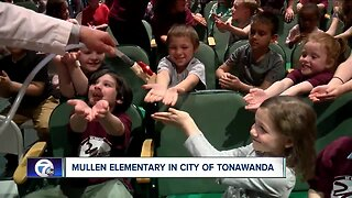 Andy Parker's Weather Machine visits Mullen Elementary