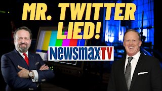 Mr. Twitter Lied. Sebastian Gorka with Sean Spicer on Newsmax