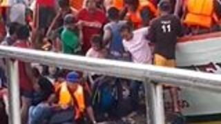 Over 250 Passengers Rescued From Capsized Ferry in the Philippines - Video