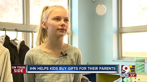 Event helped homeless children buy gifts for their parents