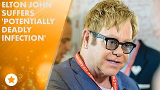 Elton John leaves Intensive Care - Video