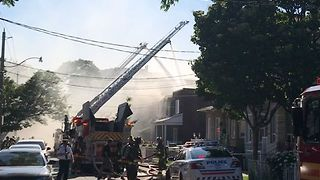 Several Homes Burn in Toronto Neighborhood - Video