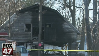 Pole barn destroyed in overnight fire - Video