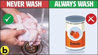 10 Foods You Should and Shouldn't Wash Before Cooking