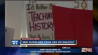 Day two of teacher walkout at the Capitol - Video