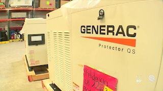 Pandemic, recent winter storms impact production of generators
