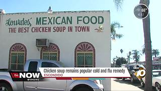 Chicken soup remains popular cold, flu remedy - Video