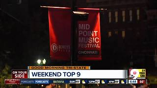 Top 9 things to do in Cincinnati this weekend - Video