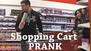 Stealing from Carts Prank