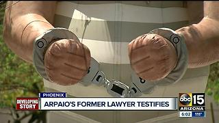 1st day of testimony over in Joe Arpaio's trial - Video