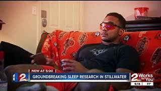 Groundbreaking sleep research ongoing in Stillwater - Video