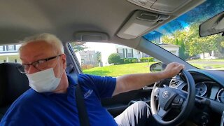 DRIVING IN REVERSE | DRIVING LESSON WITH MR. T.