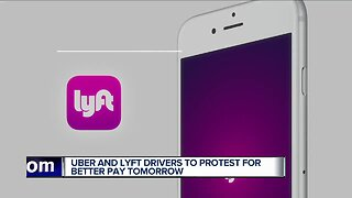 Uber, Lyft drivers to protest for better pay Wednesday