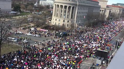 Hundreds of Thousands Gather For March For Our Lives Demonstrations in DC