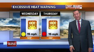 13 First Alert Las Vegas weather updated August 14 morning