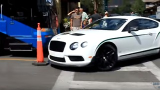 This Bentley Driver Is Not Very Good at Parking - Video