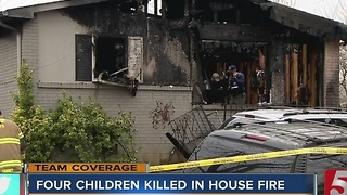 4 Children Killed In Springfield House Fire - Video