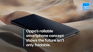 Oppo's rollable smartphone concept shows the future isn't only foldable