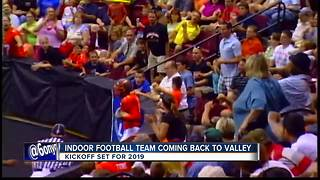 Indoor Football team coming to Treasure Valley - Video