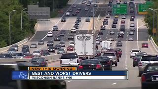 Wisconsin drivers rank poorly in new survey - Video