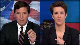 WHOA. MSNBC's Rachel Maddow Actually DEFENDED Tucker Carlson - Here's Why