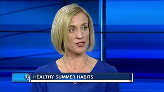 Healthy summer habits for kids